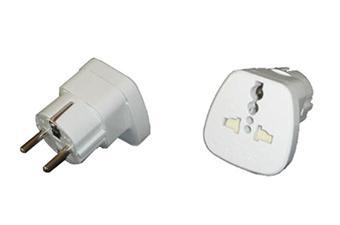 Leach tr adaptateur de voyage universel europe accessoire audio portable achat prix fnac - Adaptateur prise afrique du sud ...