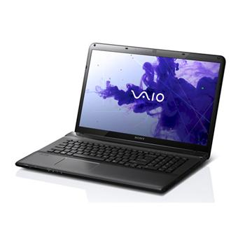 sony vaio sve1711t1e b 17 3 noir ordinateur portable. Black Bedroom Furniture Sets. Home Design Ideas