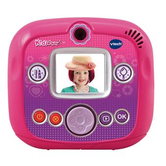 vtech appareil photo kidistar rose appareils photos achat prix fnac. Black Bedroom Furniture Sets. Home Design Ideas