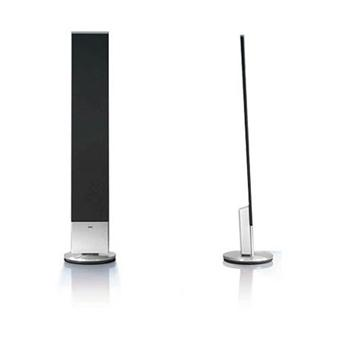 loewe individual stand speaker sl blanc laqu par paire. Black Bedroom Furniture Sets. Home Design Ideas