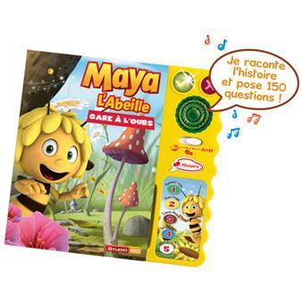 vtech magi livre interactif maya l 39 abeille jouet musical acheter sur. Black Bedroom Furniture Sets. Home Design Ideas