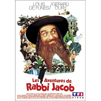 a Les Aventures de Rabbi Jacob Louis De Funes DVD Zone
