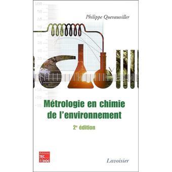 Métrologie en chimie de l'environnement