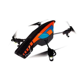 parrot ar drone 2 0 orange bleu h licopt re radio. Black Bedroom Furniture Sets. Home Design Ideas