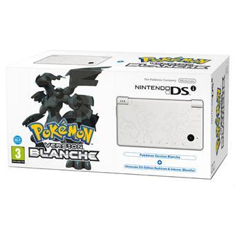 Console DSi Nintendo Edition Limitée Pokemon Version Blanche