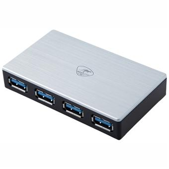 Hub USB Firewire MOBILITY LAB ML300986 BLANC 4 PORT