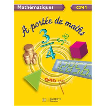a port e de maths cm1 livre de l 39 l ve broch jean