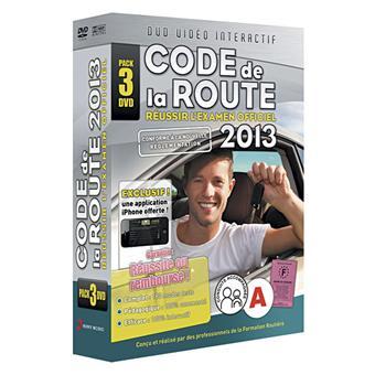 le code de la route 2013 coffret 3 dvd dvd zone 2 achat prix fnac. Black Bedroom Furniture Sets. Home Design Ideas
