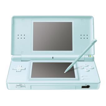 nintendo ds lite console de jeu portable bleu clair console de jeux portable. Black Bedroom Furniture Sets. Home Design Ideas