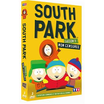 south park south park coffret int gral de la saison 1. Black Bedroom Furniture Sets. Home Design Ideas