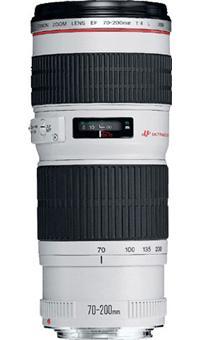 Canon EF 70 200 mm f/4 L USM Objectif zoom Soldes 2016 Fnac.com