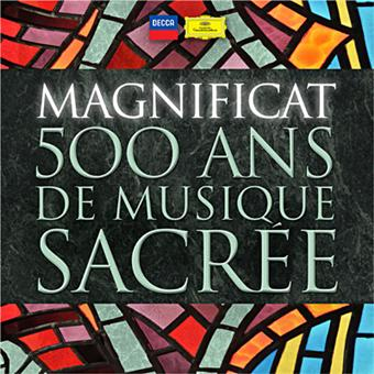 magnificat 500 ans de musique sacr e 51 cd compilation. Black Bedroom Furniture Sets. Home Design Ideas