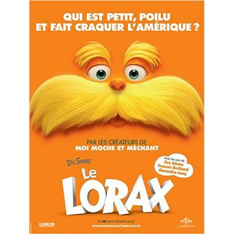 Lorax (Le) | Renaud, Chris. Réalisateur