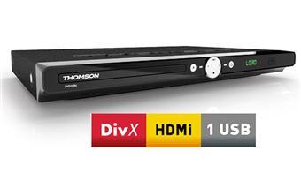 Thomson dvd115h lecteur dvd de salon achat prix fnac - Lecteur dvd de salon ...