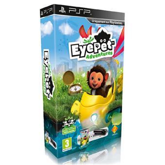EyePet Adventures PSP Camera a w