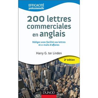 200 mod les de lettres commerciales en anglais pour l. Black Bedroom Furniture Sets. Home Design Ideas