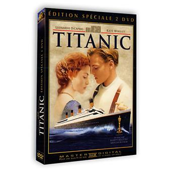 titanic edition sp ciale 2 dvd dvd zone 2 james cameron leonardo dicaprio kate winslet. Black Bedroom Furniture Sets. Home Design Ideas