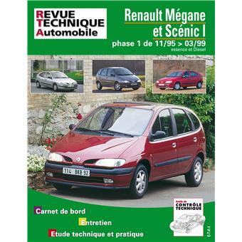 revue technique automobile 119 1 megane scenic 99 broch. Black Bedroom Furniture Sets. Home Design Ideas