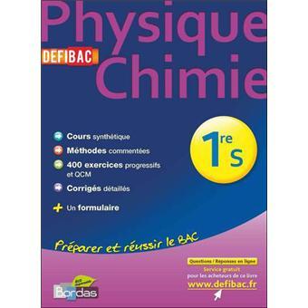 physique chimie 1ere s pdf