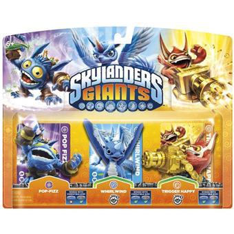 skylanders giants triple pack a