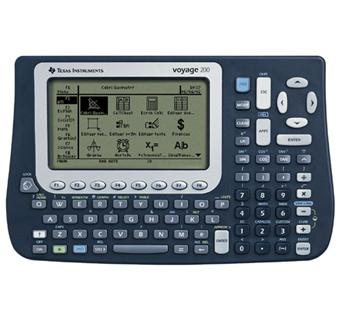 texas instruments voyage 200 calculatrice scientifique graphique programmable achat prix fnac. Black Bedroom Furniture Sets. Home Design Ideas