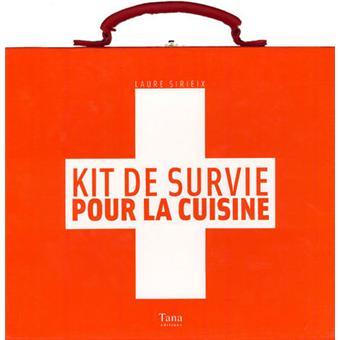 Kit de survie pour la cuisine coffret 8 volumes coffret - Kit de cuisine pour enfant ...