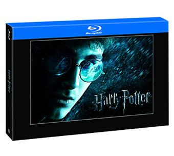 harry potter harry potter l 39 int grale coffret des films 1 6 blu ray coffret dvd blu. Black Bedroom Furniture Sets. Home Design Ideas