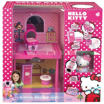 Giochi preziosi hello kitty maison maquillage 1 figurine makeup asst maquillage achat - Maison de poupee hello kitty ...