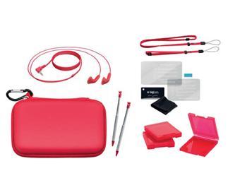 pack bigben essentiel rouge pour nintendo 3ds accessoire. Black Bedroom Furniture Sets. Home Design Ideas