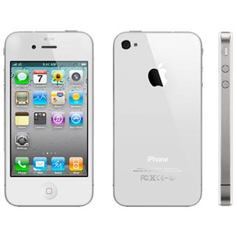 apple iphone 4 blanc 8 go smartphone sous ios achat. Black Bedroom Furniture Sets. Home Design Ideas