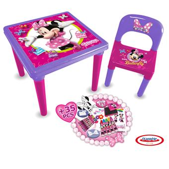 d 39 arpeje minnie table d 39 activit s kit cr atif achat. Black Bedroom Furniture Sets. Home Design Ideas