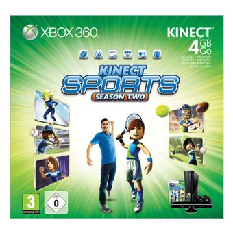 console xbox 360 4 go microsoft capteur kinect kinect. Black Bedroom Furniture Sets. Home Design Ideas