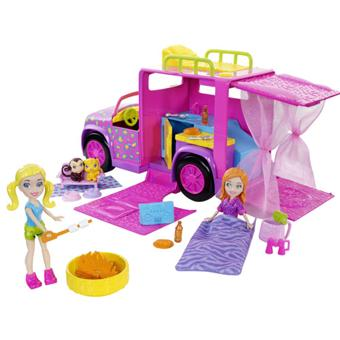 mattel polly pocket limousine safari