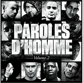 Paroles d 39 homme volume 2 compilation rap fran ais cd for Achat maison rap