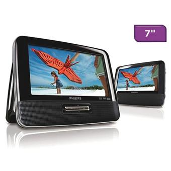philips pd7022 lecteur dvd lecteur dvd portable. Black Bedroom Furniture Sets. Home Design Ideas