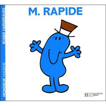 Monsieur madame monsieur rapide roger hargreaves - Collection livre monsieur madame ...
