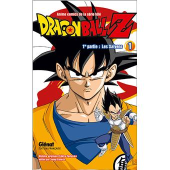 Dragon ball z tome 1 dragon ball z anime comic couleur - Tout les image de dragon ball z ...