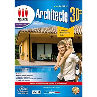 Architecte 3d facile 2012 dvd rom acheter sur for Ou acheter architecte 3d