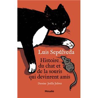 Histoire du chat et de la souris qui devinrent amis broch luis sepulveda - L histoire de la souris ...