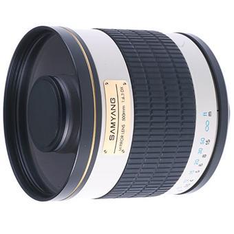 Objectif reflex samyang 500 mm f 6 3 miroir mc if for Objectif a miroir