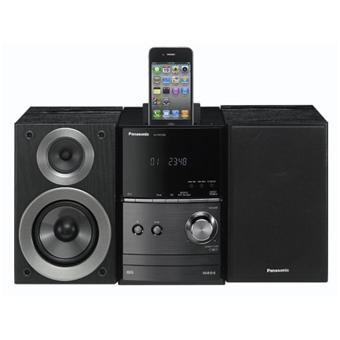 micro chaine hifi panasonic sc pm500ef avec dock ipod lecteur cd micro cha ne top prix sur. Black Bedroom Furniture Sets. Home Design Ideas