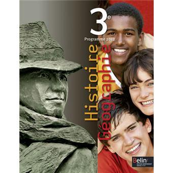 Histoire Geo 4eme Hatier Edition