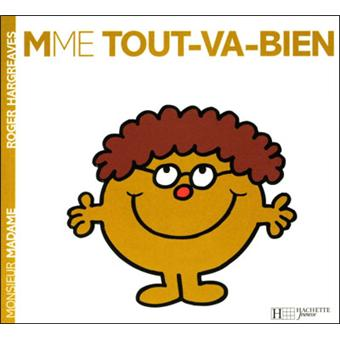 Monsieur madame madame tout va bien roger hargreaves - Collection livre monsieur madame ...