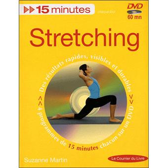 15 minutes stretching livre CD Suzanne Martin Achat Livre Fnac