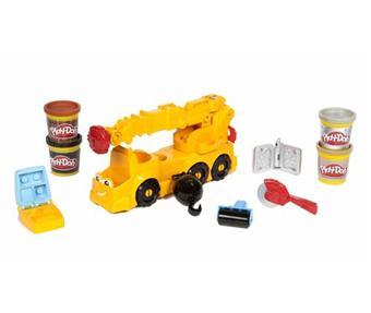 hasbro playdoh camion grue electronique p 226 te 224 modeler acheter sur fnac