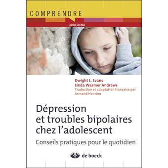 Troubles de l'humeur chez l'enfant et l'adolescent - Sant