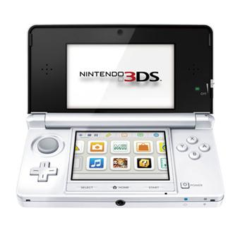 console nintendo 3ds blanc arctique console de jeux. Black Bedroom Furniture Sets. Home Design Ideas