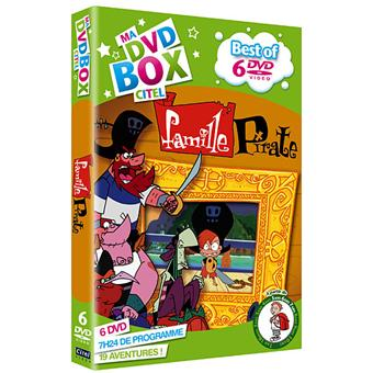 La famille pirate coffret best of 6 dvd coffret dvd - La famille pirates ...