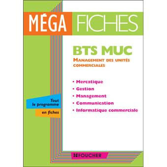 mega fiches bts muc management des unit s commerciales. Black Bedroom Furniture Sets. Home Design Ideas