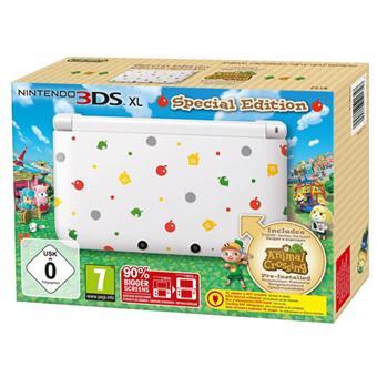 Console Nintendo 3DS XL Série Limitée + Animal Crossing New Leaf